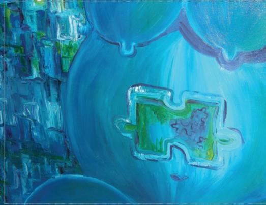 Baby Blue and the Missing Part,  Michèle Aimpée Parent