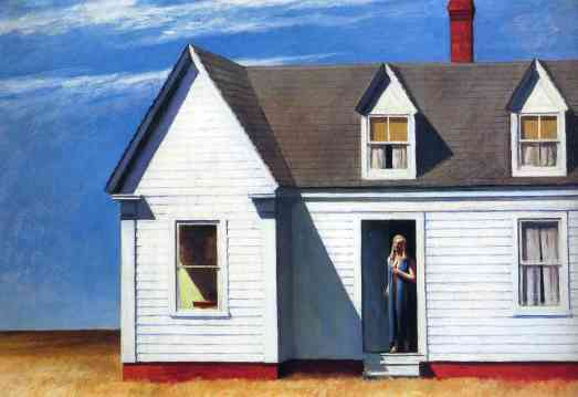 "--Edward Hopper, ""High Noon"""